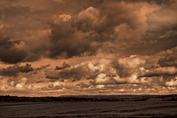Wolken ohne Ende...