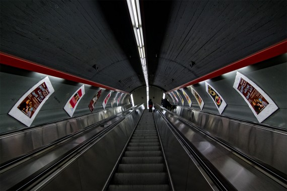 Unendliche Rolltreppe