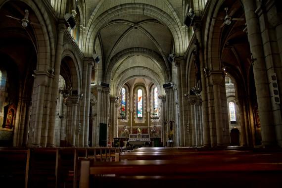 L'Eglise Saint-Ferdinand (L'Aiguillon-Port), Arcachon, Frankreich