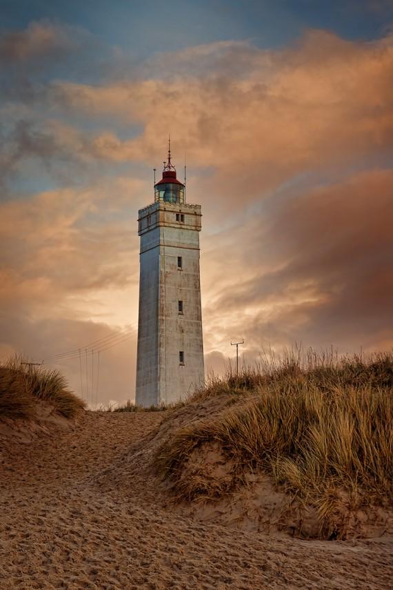 Leuchtturm von Blåvandshuk