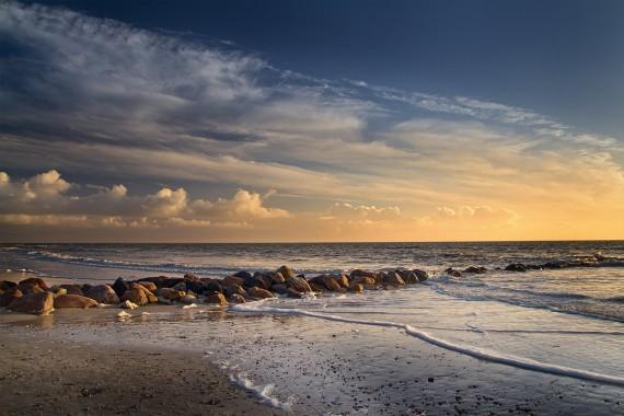 Strand bei 4° C