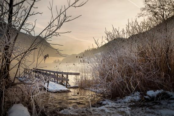 Guten Morgen am Weißensee...