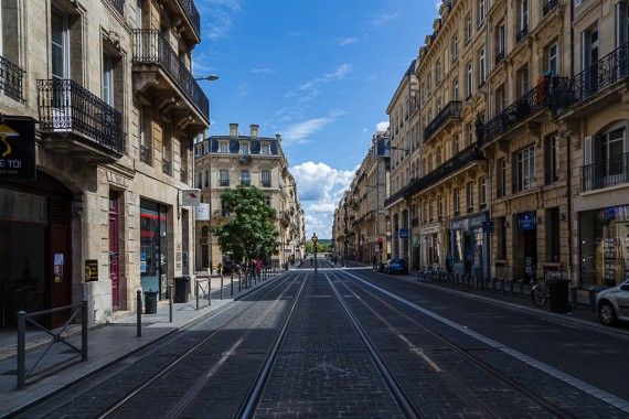 Fluchtpunkt Bordeaux
