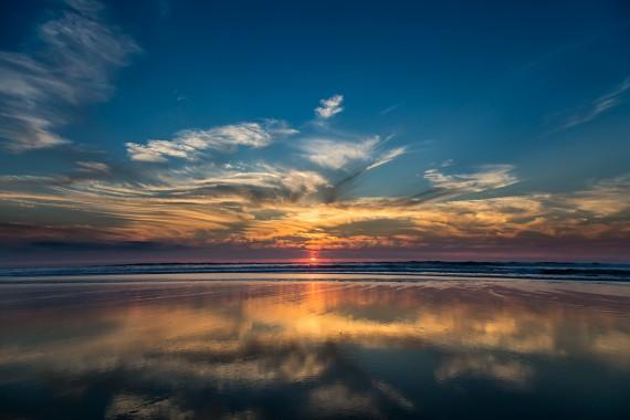 Goldener Horizont