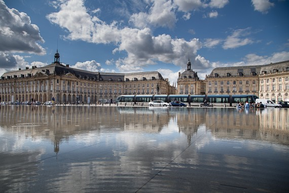 La place de la Bourse de Bordeaux