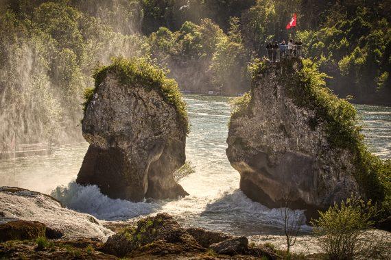 Rheinfall im Sonnenglanz