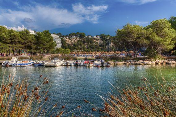 Cala Galdana Hafen