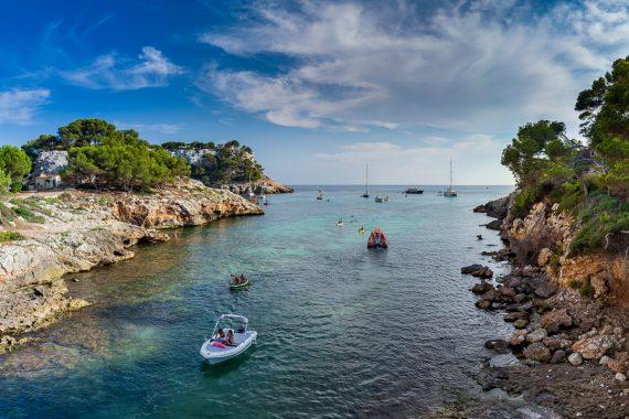 Ciutadella Blick auf das Meer
