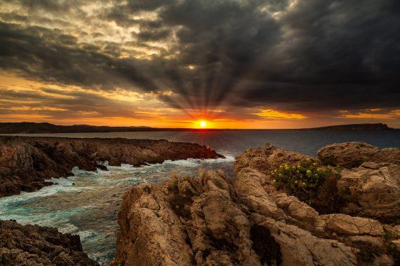 Sonnenuntergang Cap Fornells