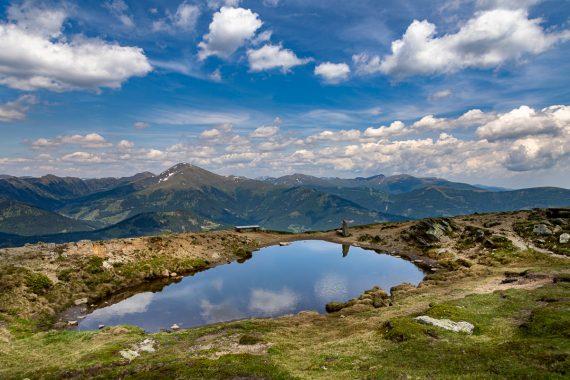 Spiegel im See